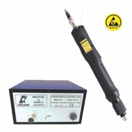 KOLVER KBL15FR elektromos csavarozógép tápegységgel