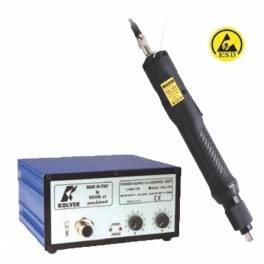 KOLVER KBL15FR/S elektromos csavarozógép tápegységgel