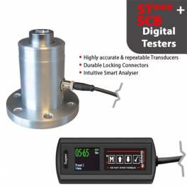 BMS ST100 digitális nyomatékmérő + SCBP PRO 10-100 Nm