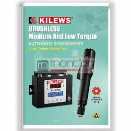 KILEWS közepes és alacsony nyomatékú elektromos csavarozók katalógus, angol