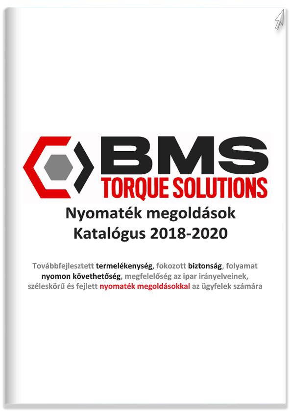 BMS nyomatékszerszámok katalógus magyar Montion Kft.