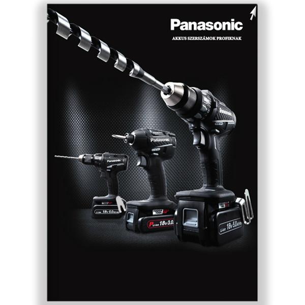 Panasonic akkus gépek katalógus magyar Montion Kft.